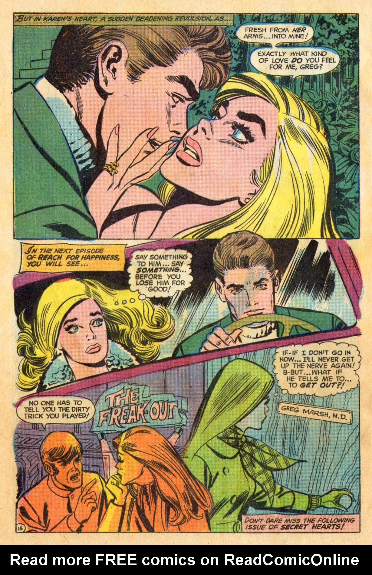 Read online Secret Hearts comic -  Issue #136 - 32