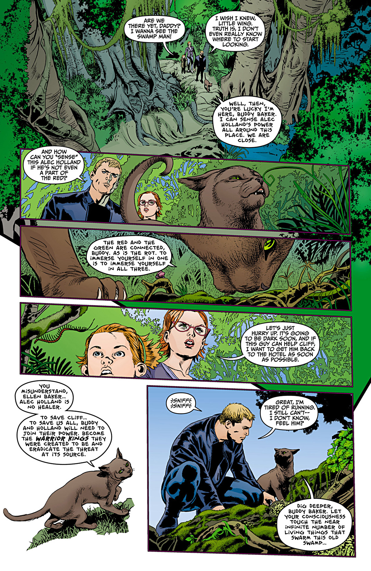 Read online Animal Man (2011) comic -  Issue #12 - 5