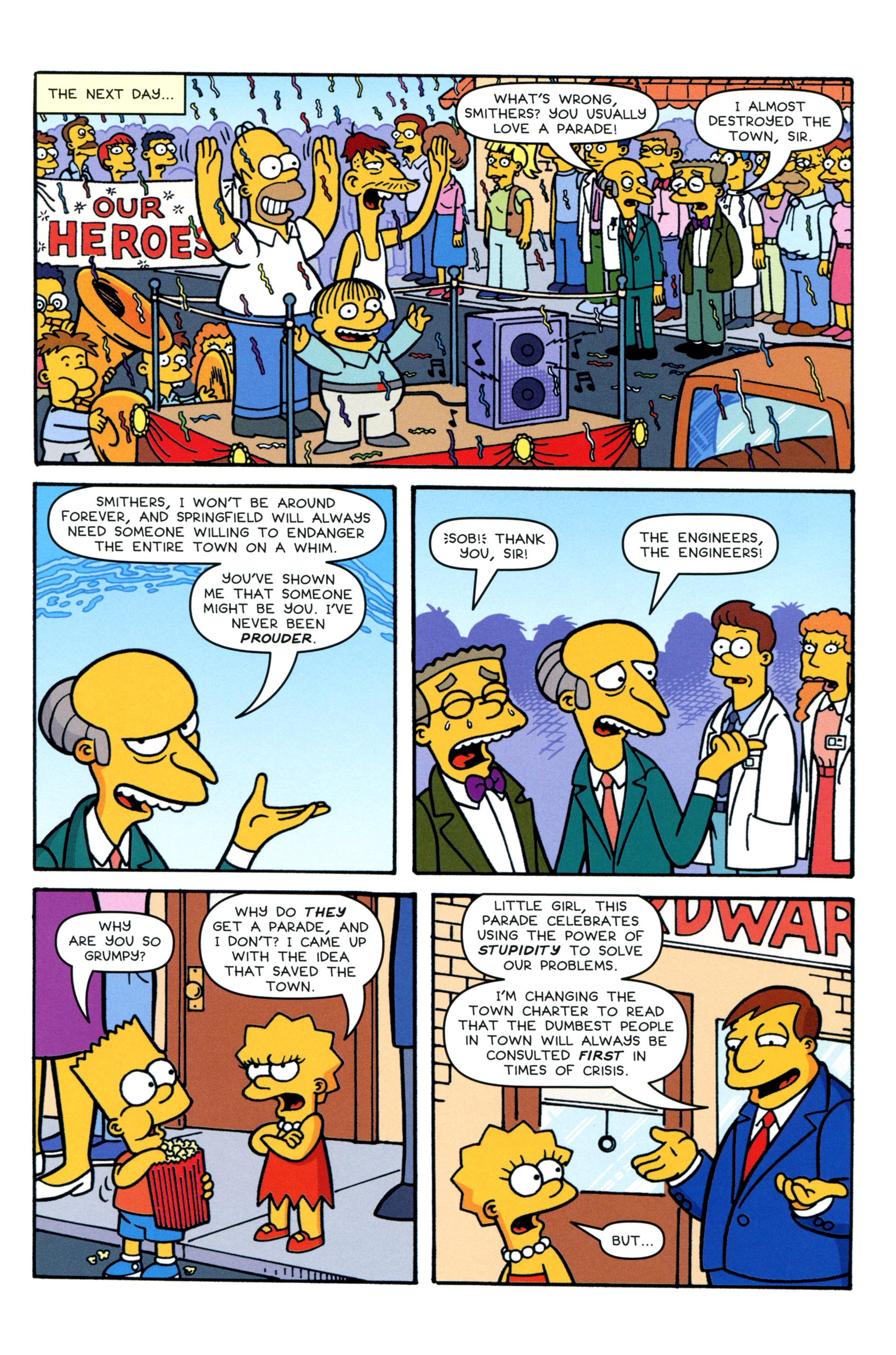 Read online Simpsons Comics comic -  Issue #206 - 23