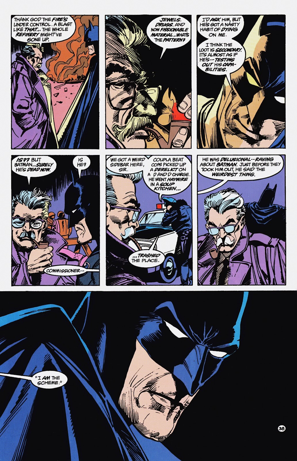 Read online Detective Comics (1937) comic -  Issue # _TPB Batman - Blind Justice (Part 1) - 43
