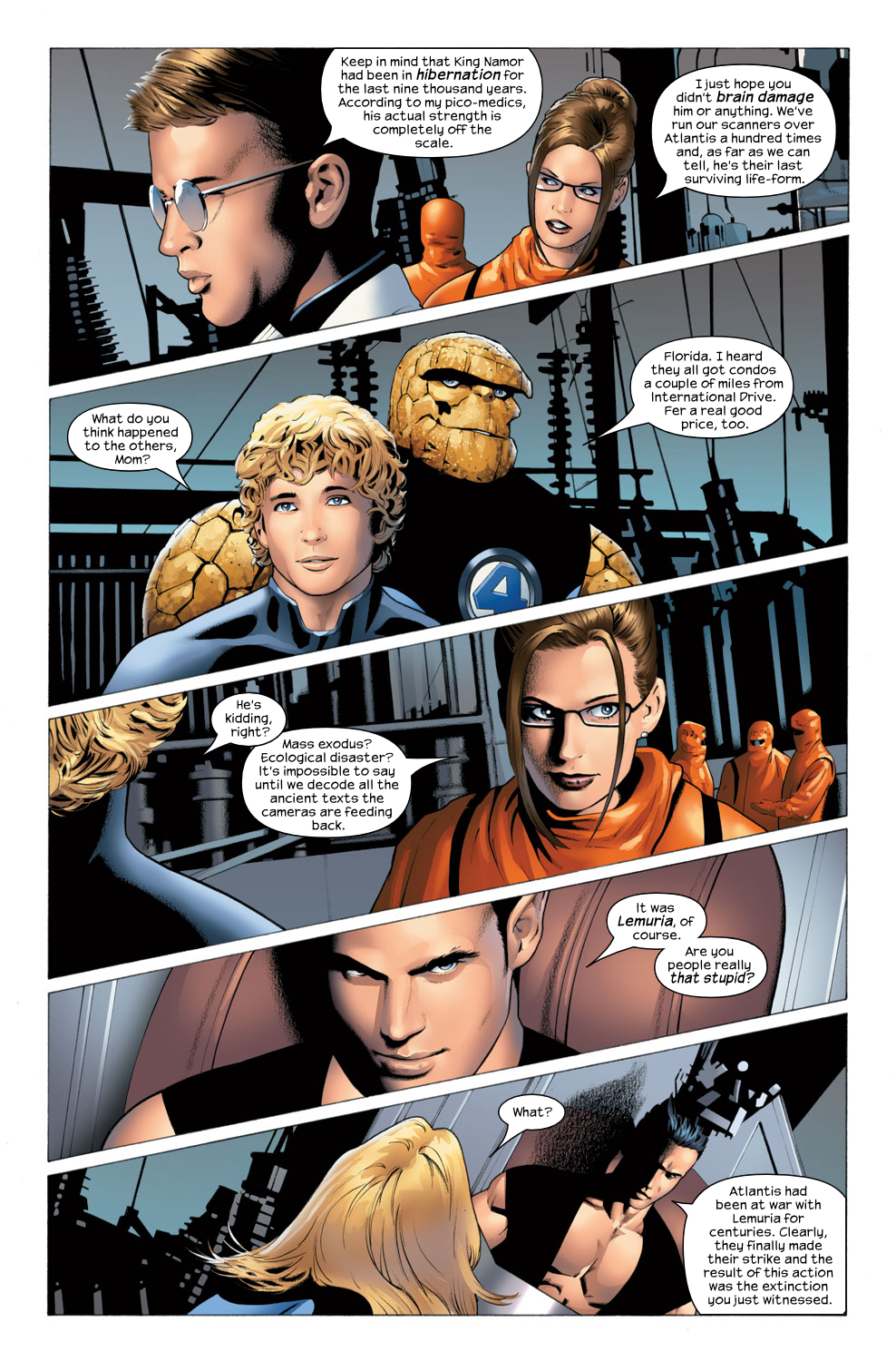 Read online Ultimate Fantastic Four (2004) comic -  Issue #25 - 11