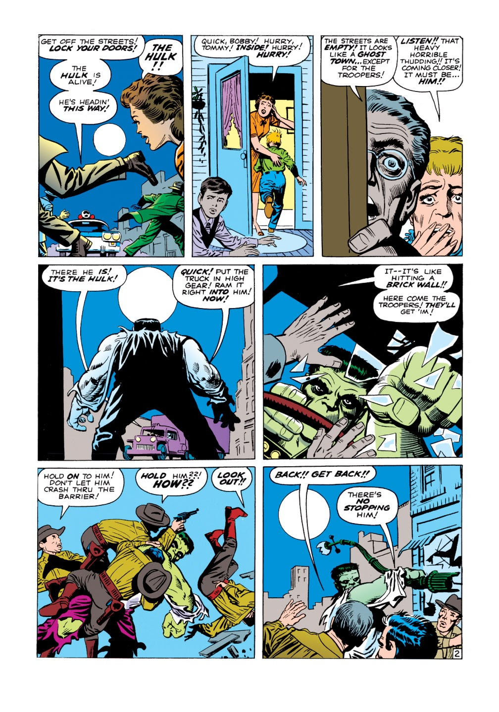 Read online Marvel Masterworks: The Incredible Hulk comic -  Issue # TPB 1 (Part 1) - 30