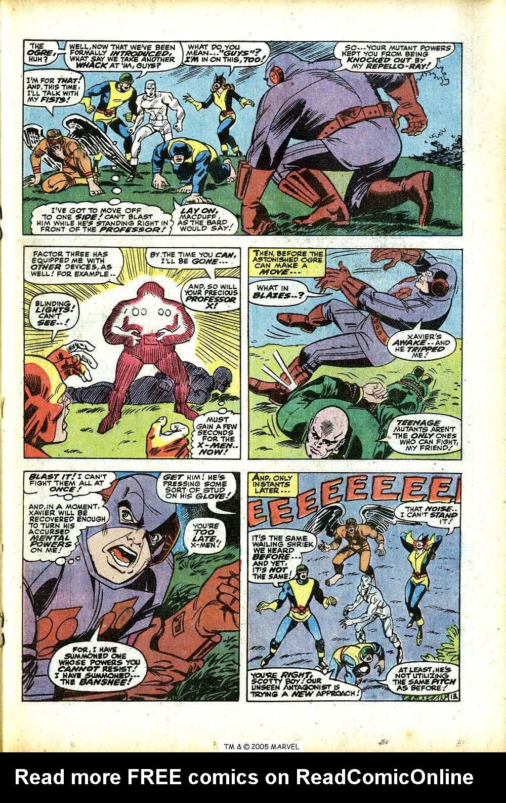 Uncanny X-Men (1963) 76 Page 18