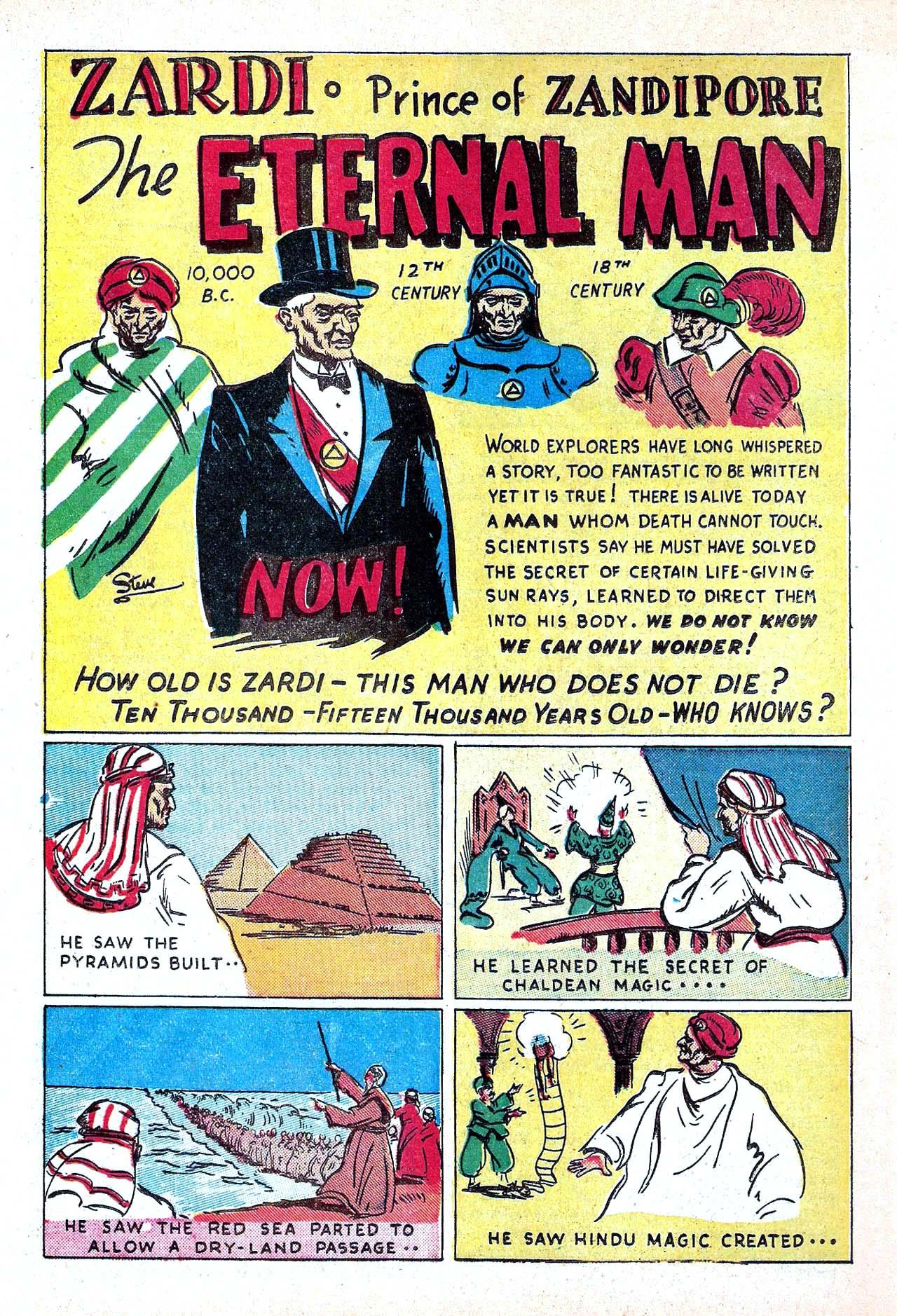 Read online Amazing Man Comics comic -  Issue #11 - 38