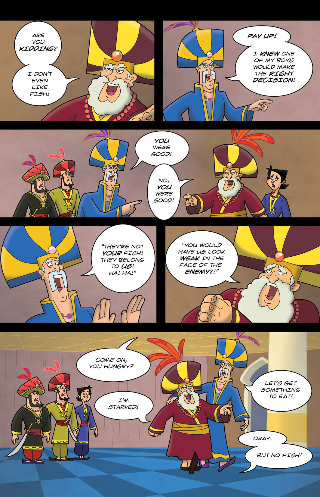 Read online 1001 Nights comic -  Issue #7 - 23