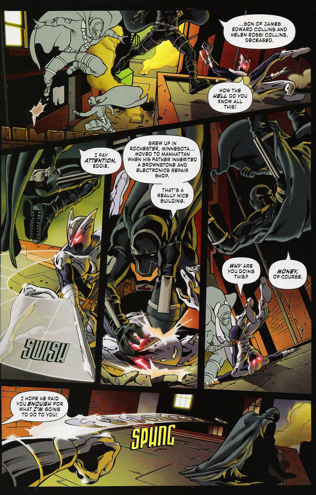 Read online ShadowHawk (2005) comic -  Issue #3 - 21