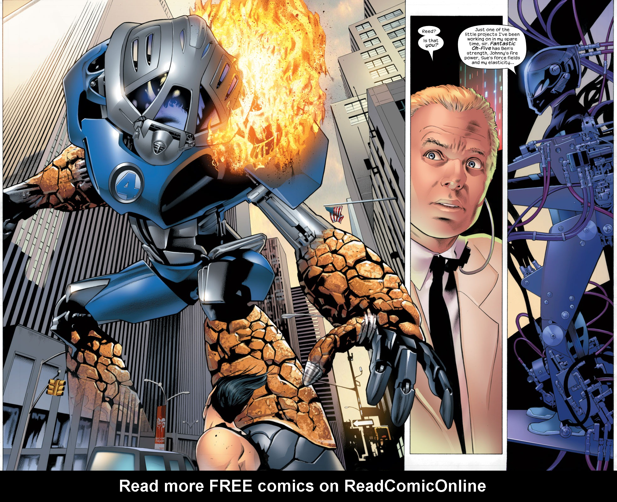 Read online Ultimate Fantastic Four (2004) comic -  Issue #26 - 5