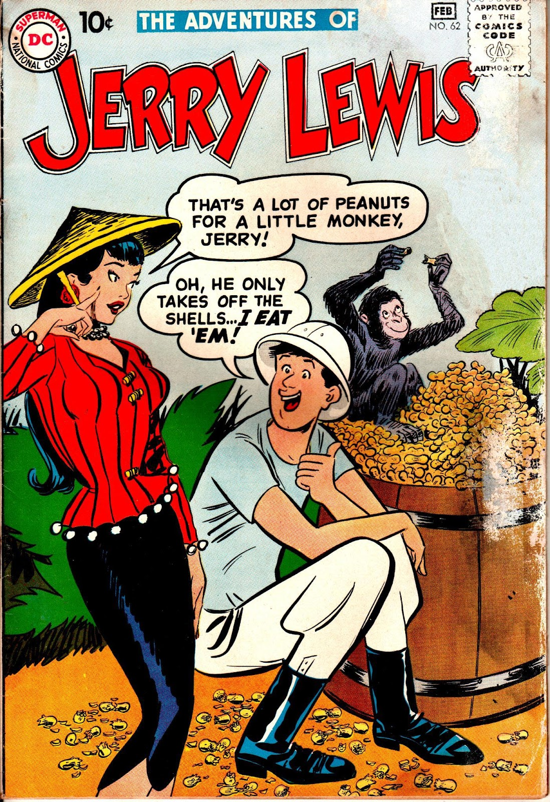 The Adventures of Jerry Lewis 62 Page 1