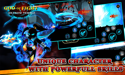 Shadow Temple God Of Fight Mod Kim Cương