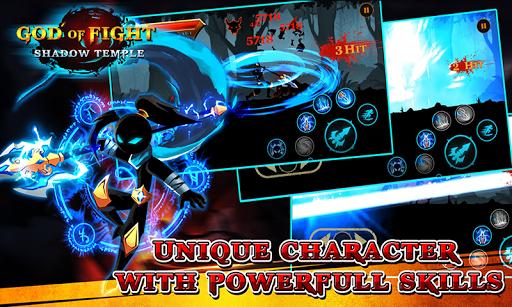 Shadow Temple God Of Fight Mod Kim Cương