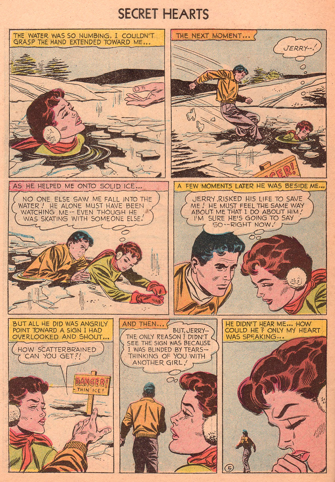 Read online Secret Hearts comic -  Issue #27 - 30