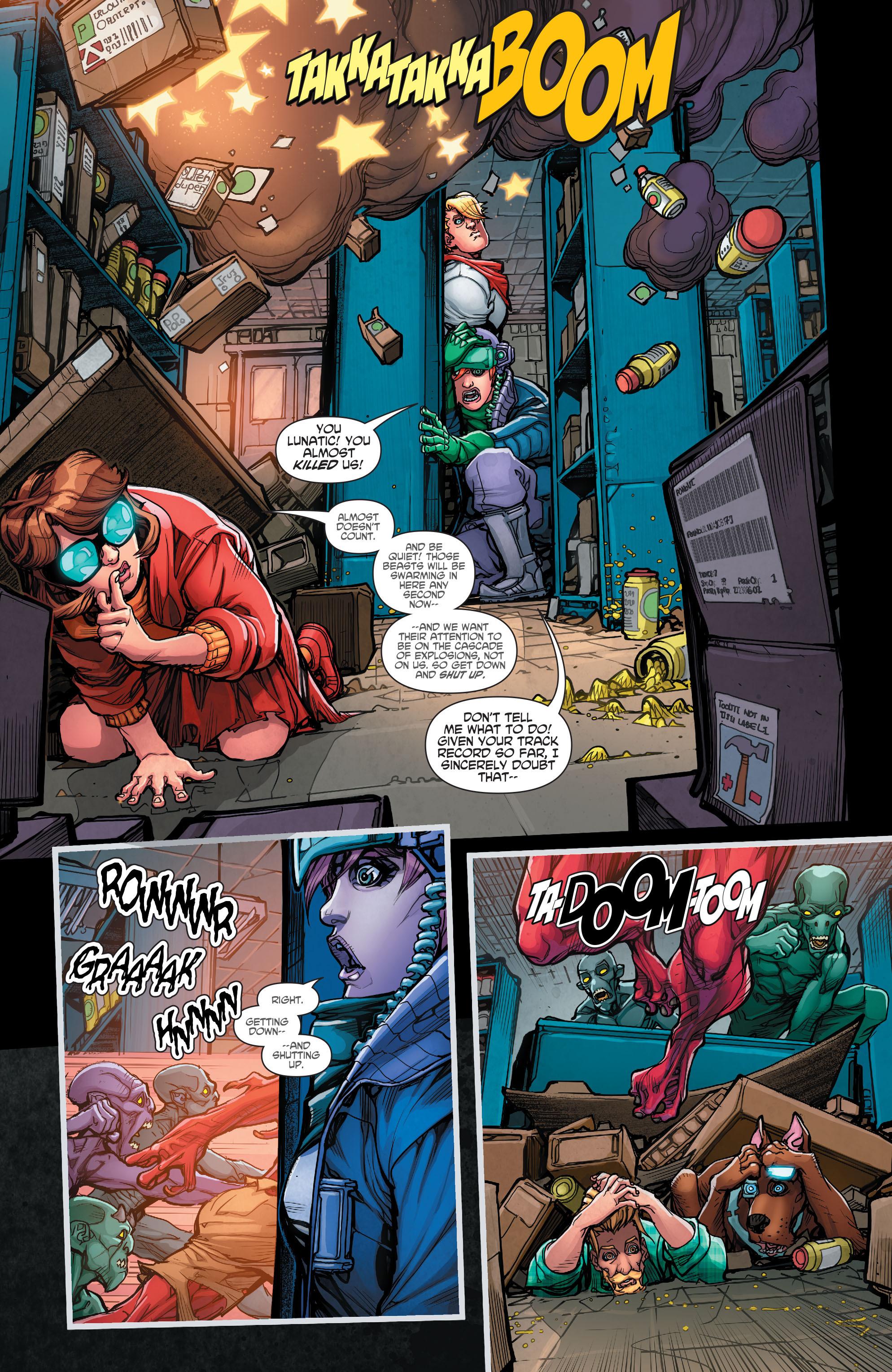 Read online Scooby Apocalypse comic -  Issue #7 - 16