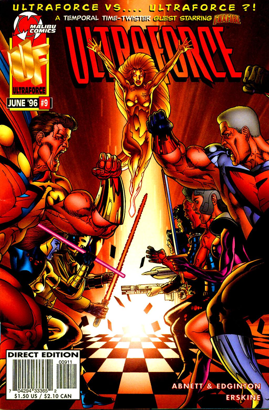 Read online UltraForce (1995) comic -  Issue #9 - 1