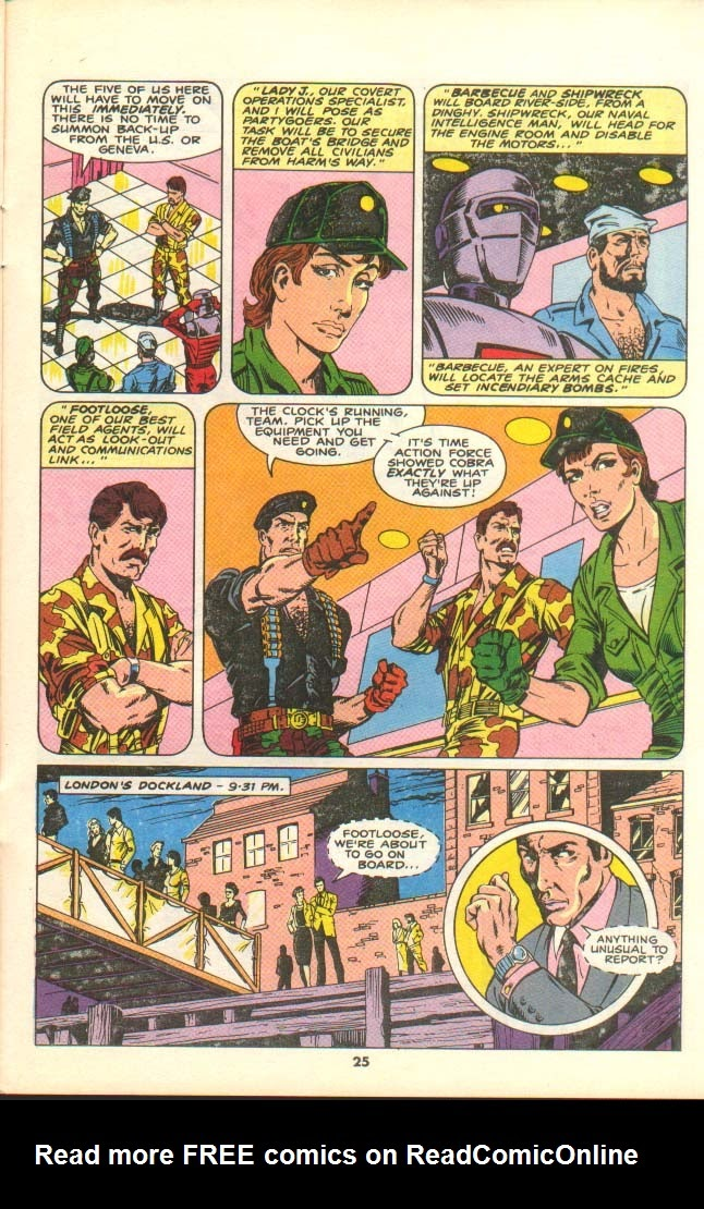 G.I. Joe European Missions issue 7 - Page 23