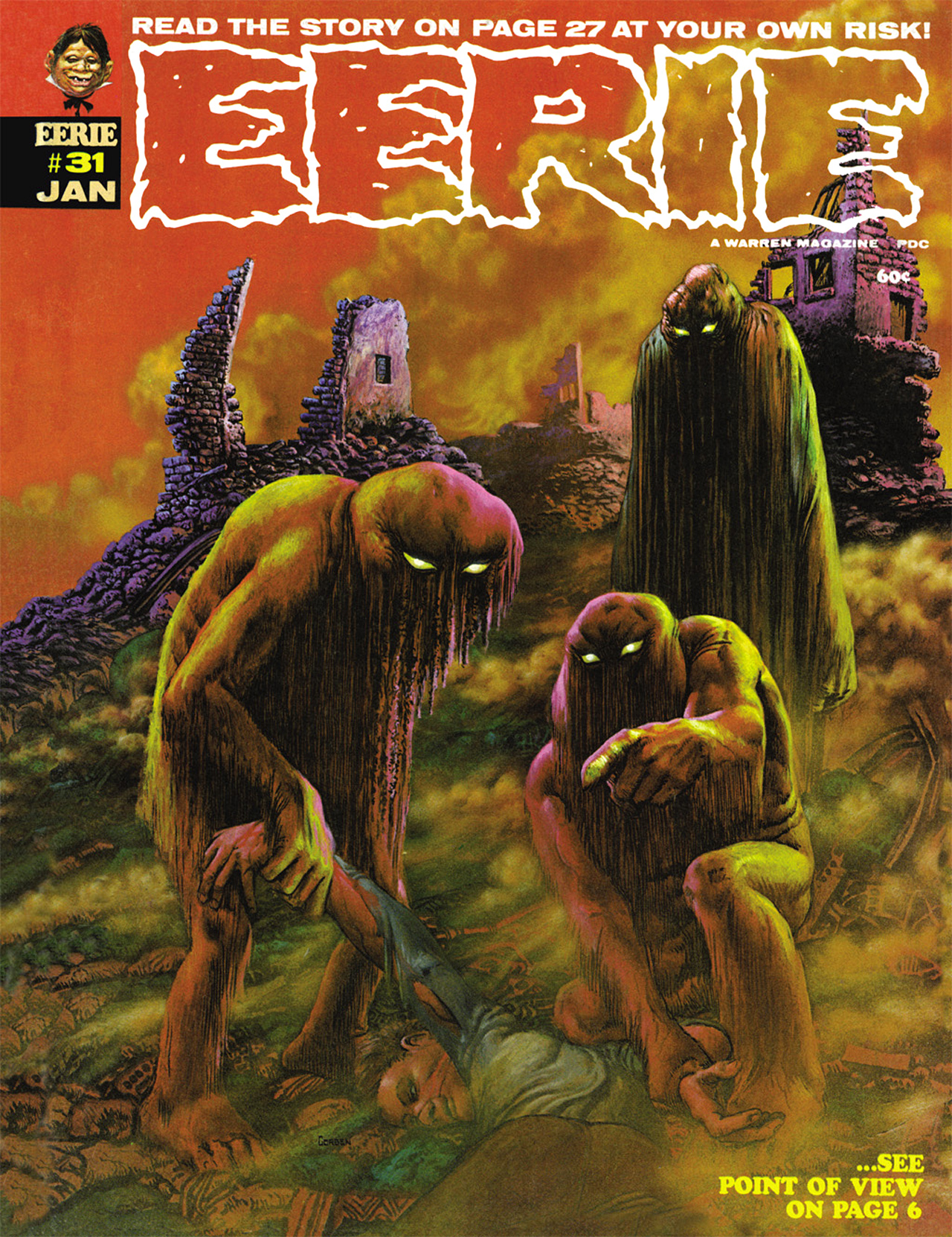 Read online Eerie Archives comic -  Issue # TPB 6 - 187