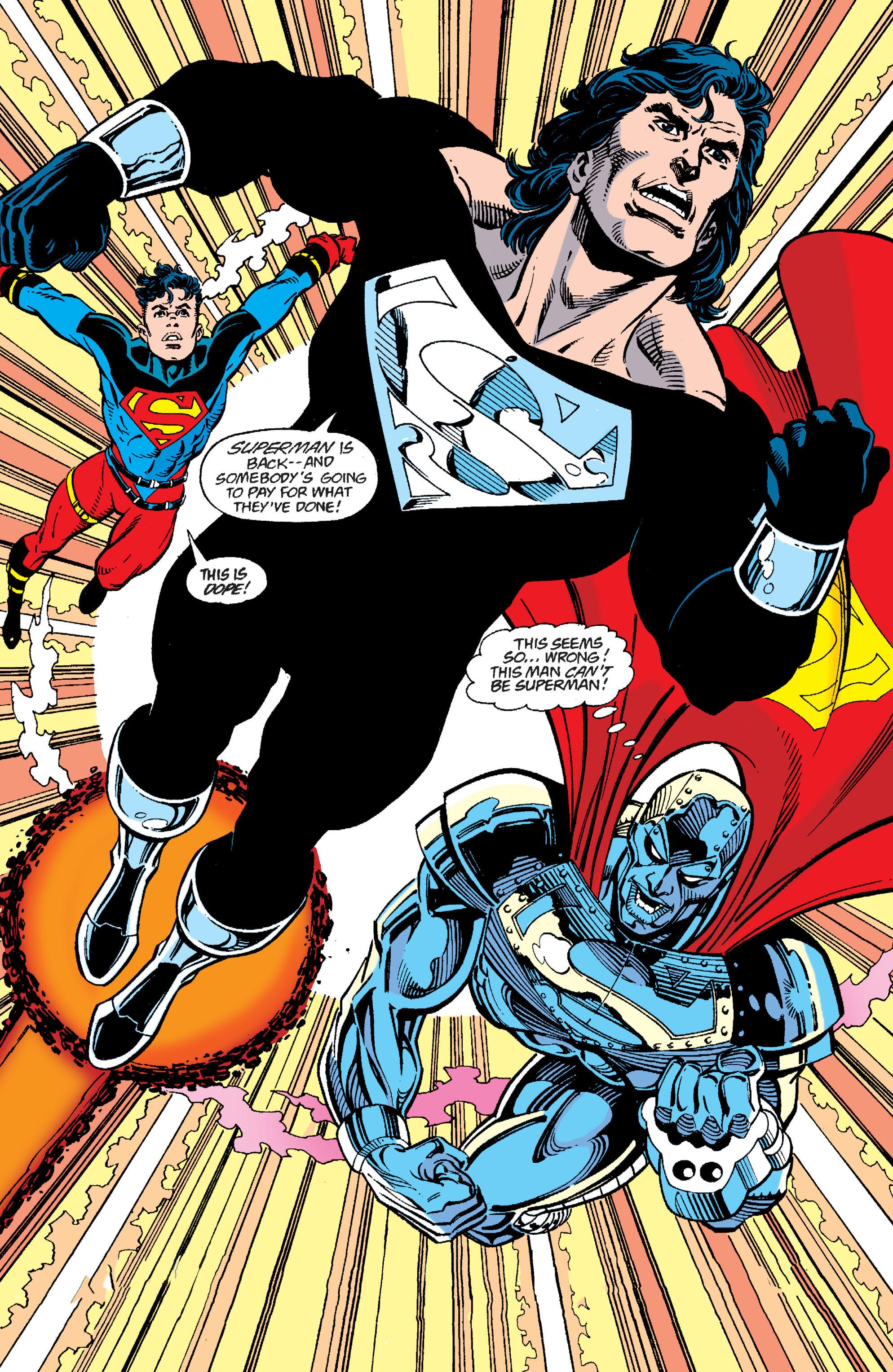 Resultado de imagem para the return of superman comic