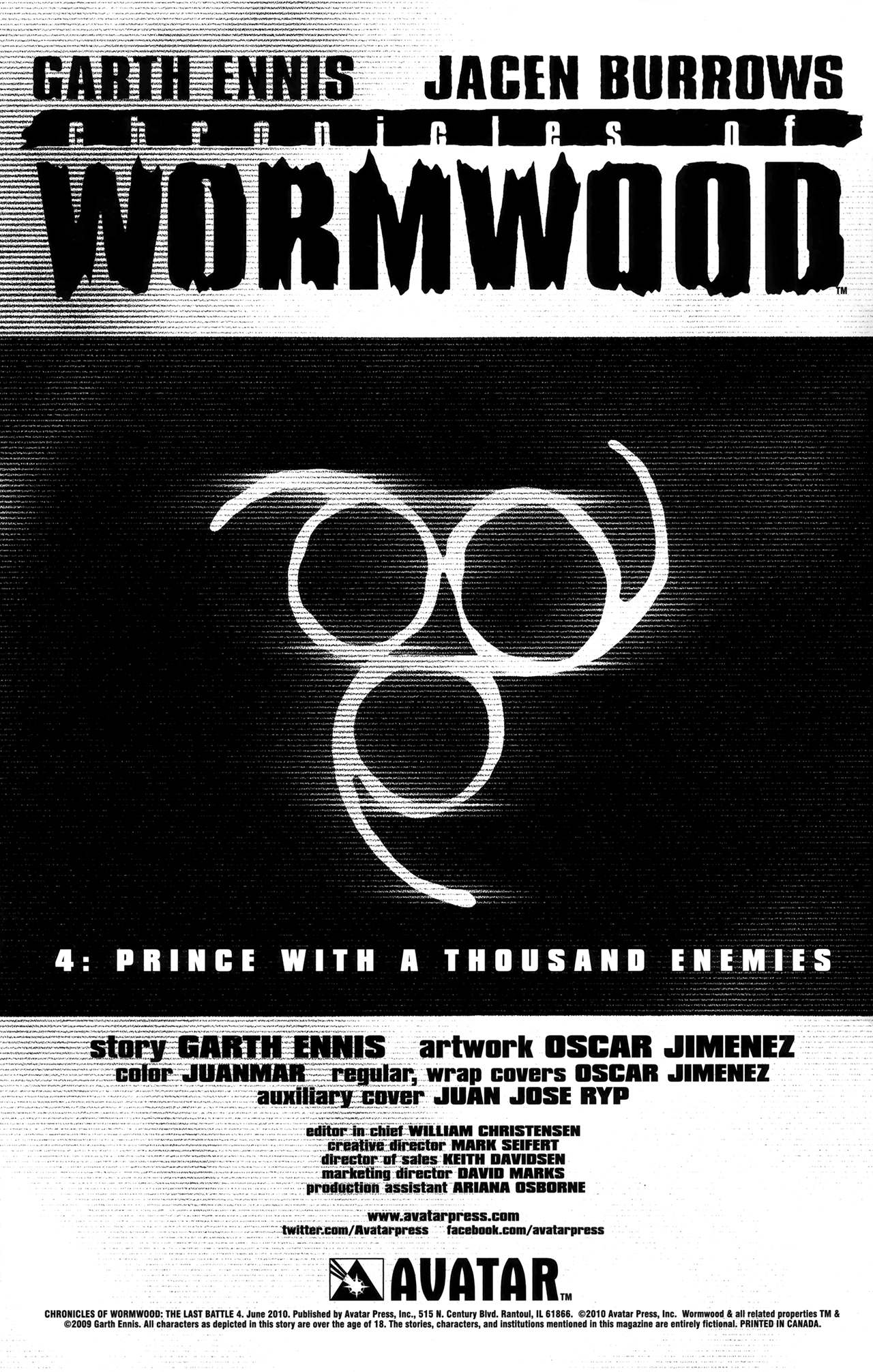 Read online Chronicles of Wormwood: The Last Battle comic -  Issue #4 - 3