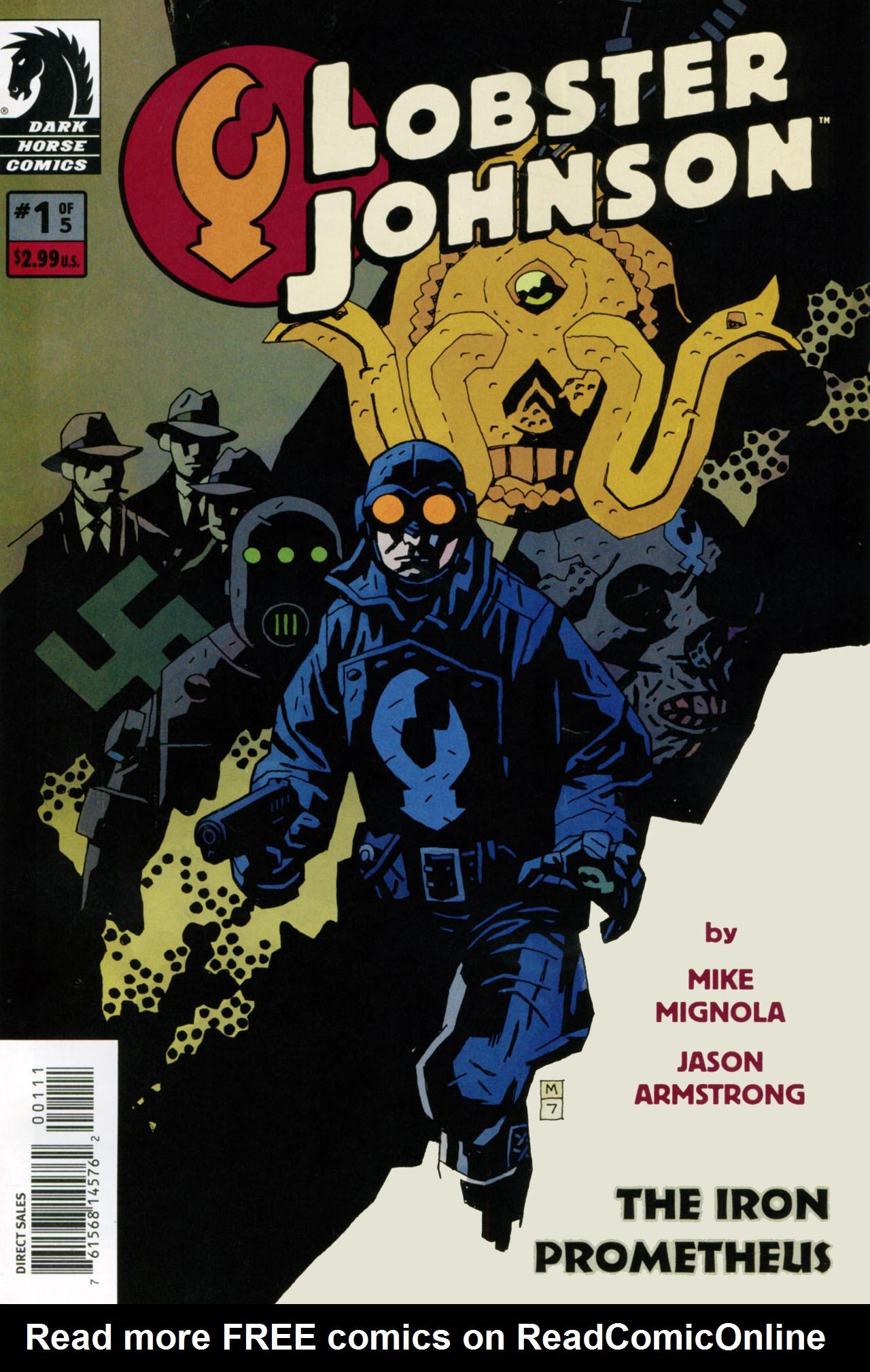 Read online Lobster Johnson: The Iron Prometheus comic -  Issue #1 - 1