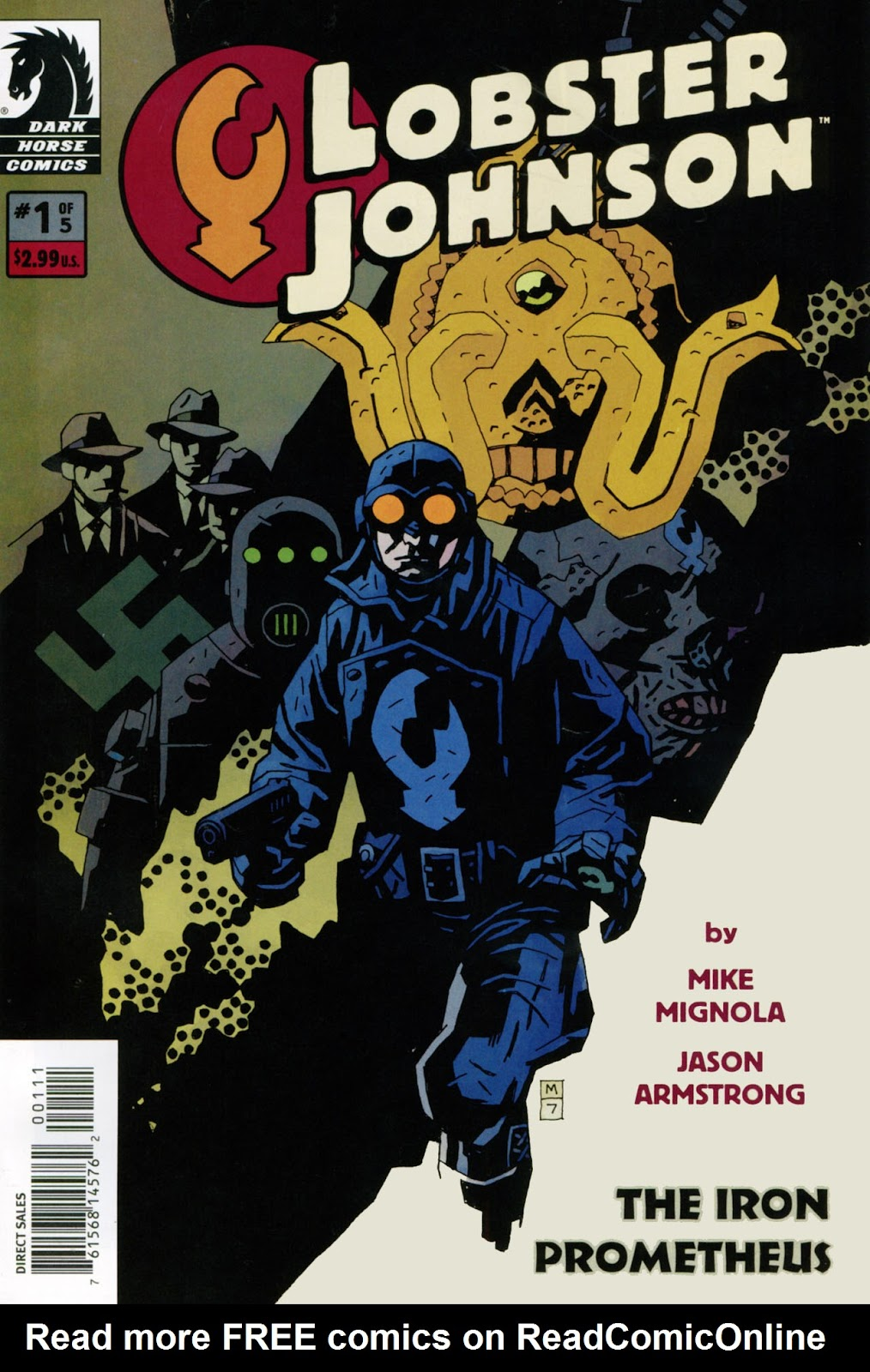 Lobster Johnson: The Iron Prometheus issue 1 - Page 1