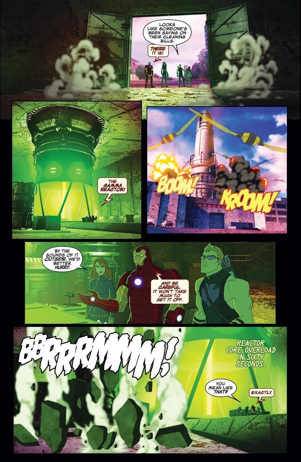 Read online Marvel Universe Avengers Assemble Season 2 comic -  Issue #1 - 14