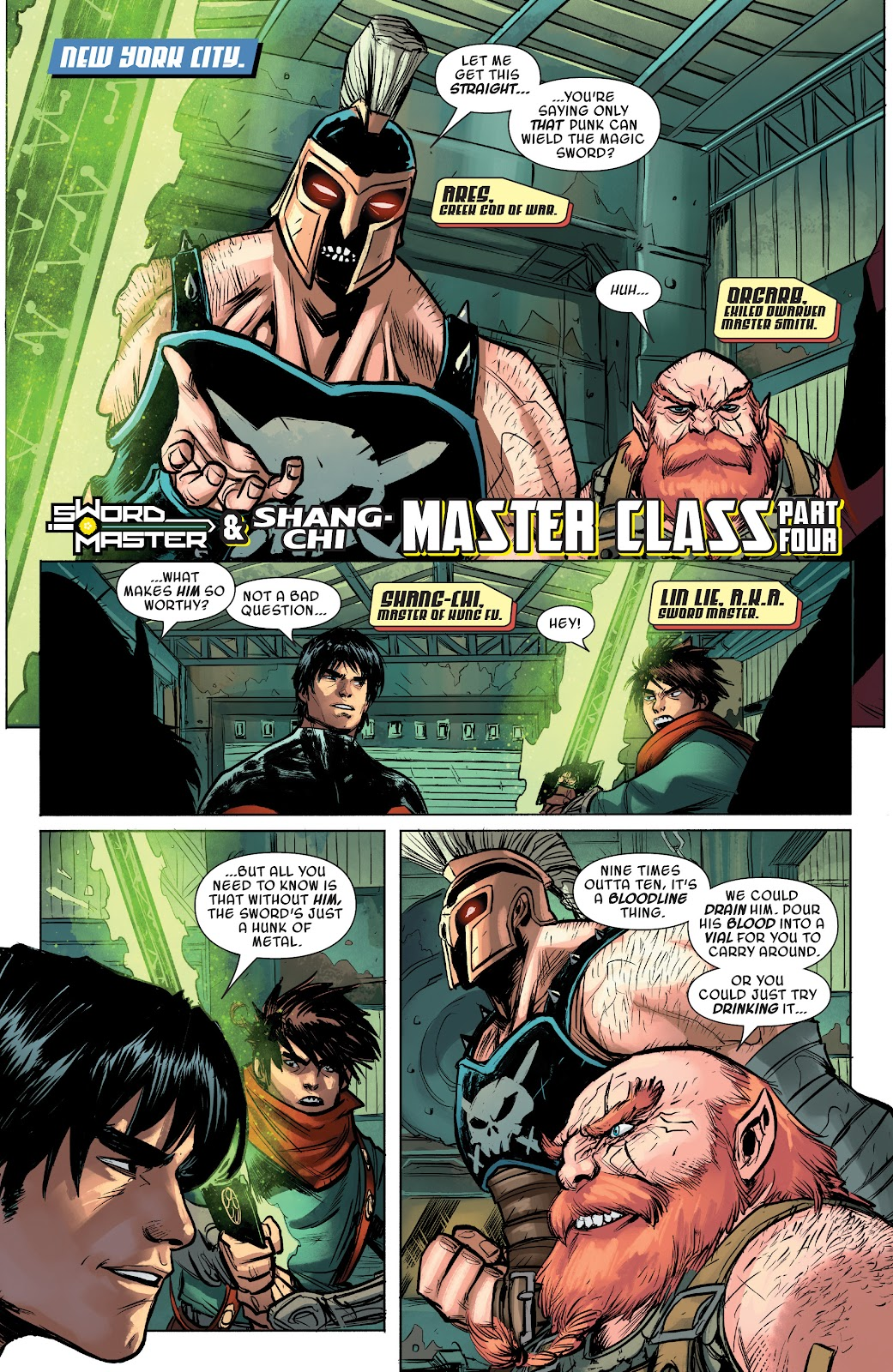 Read online Sword Master comic -  Issue #4 - 22
