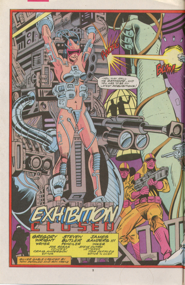 Read online Silver Sable and the Wild Pack comic -  Issue #7 - 3