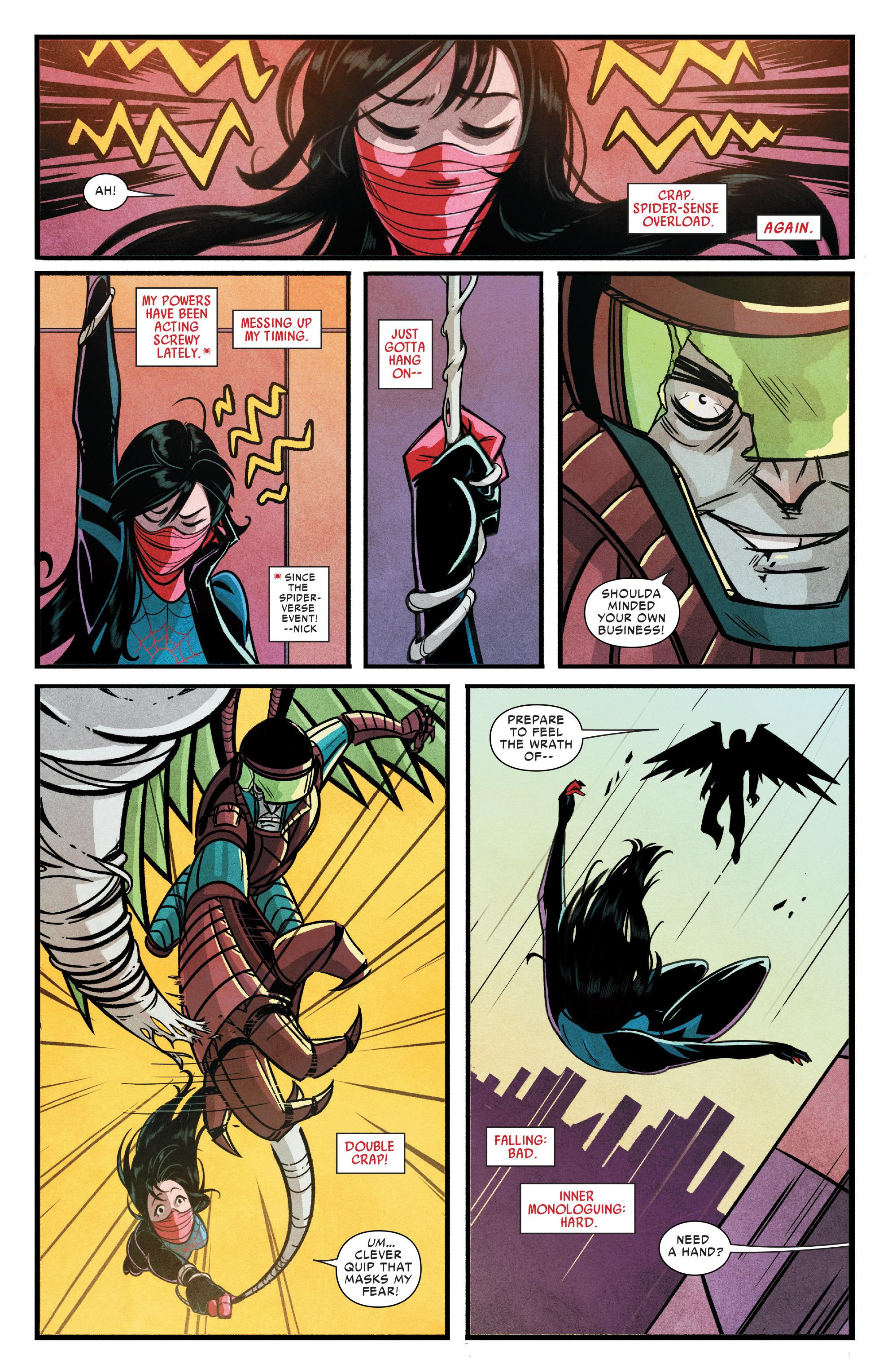 Read online Silk (2015) comic -  Issue #1 - 5
