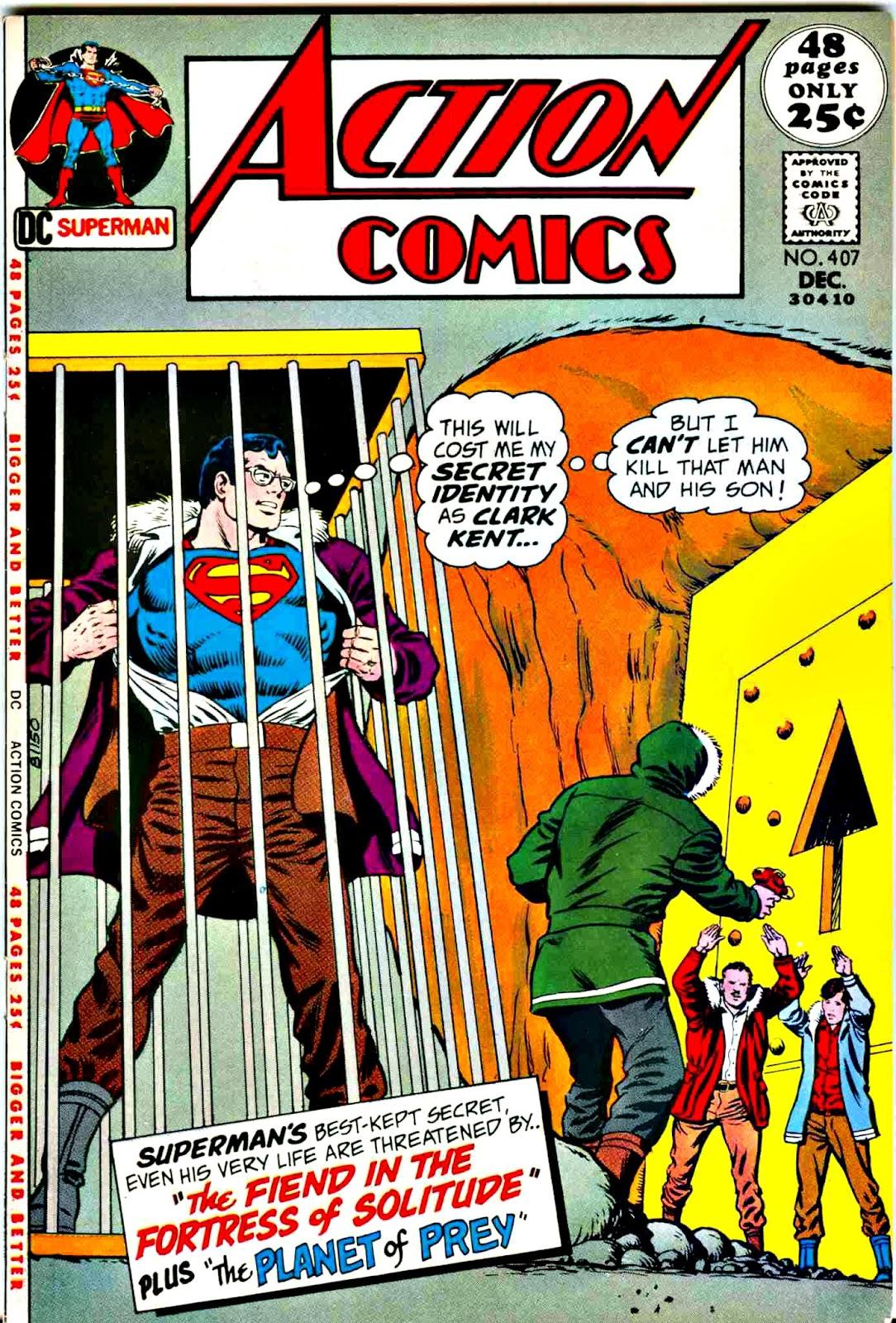 Action Comics (1938) 407 Page 1