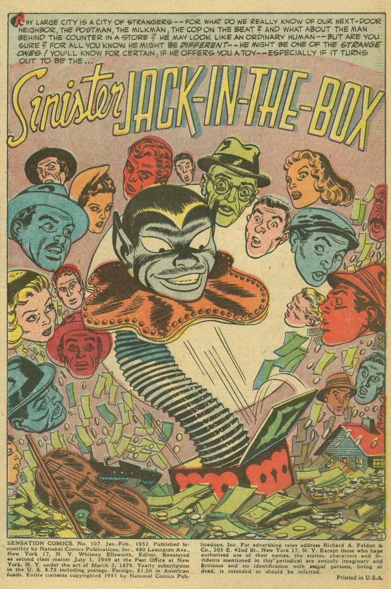 Read online Sensation (Mystery) Comics comic -  Issue #107 - 3
