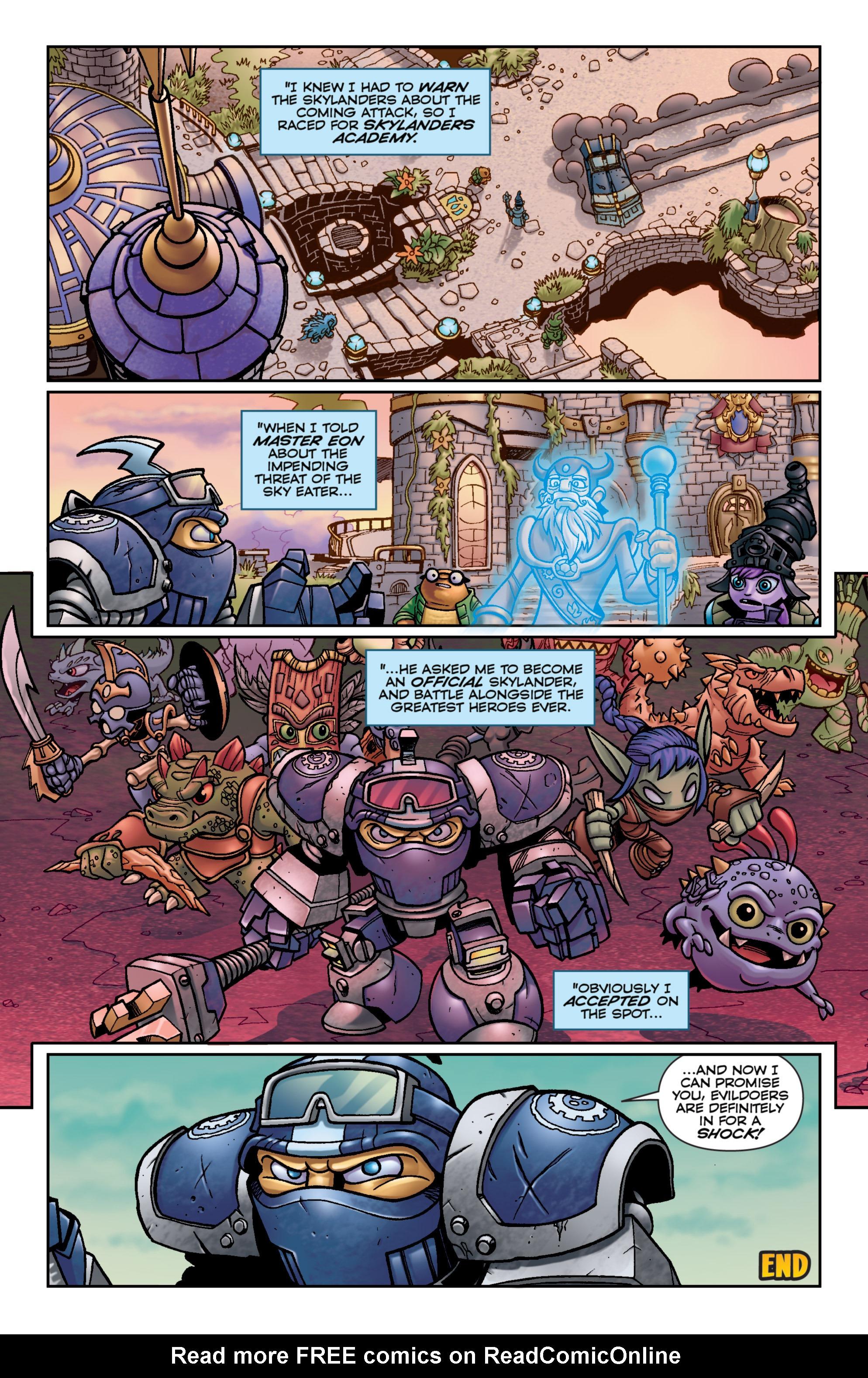 Read online Skylanders Superchargers comic -  Issue #6 - 21