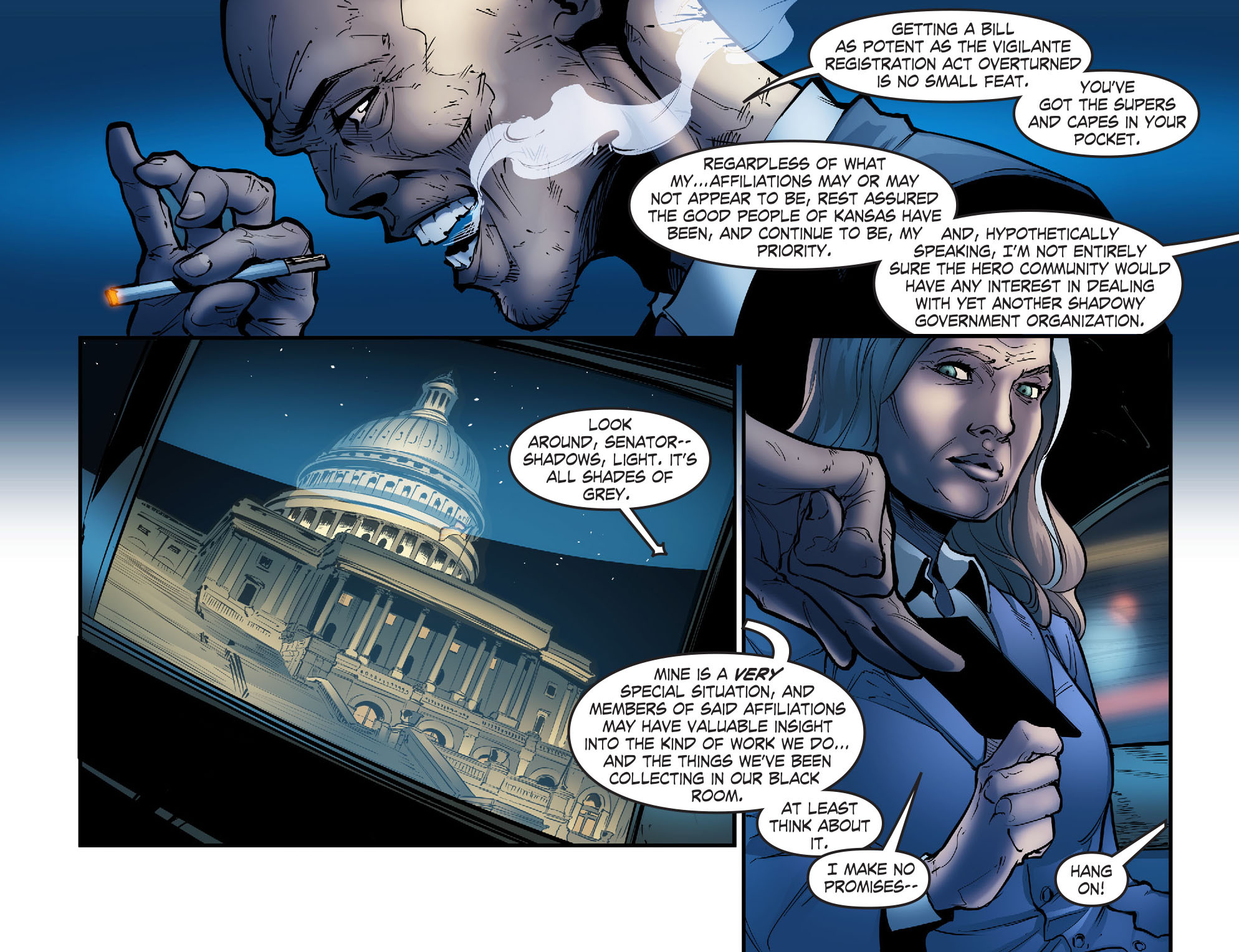 Read online Smallville: Season 11 comic -  Issue #56 - 12