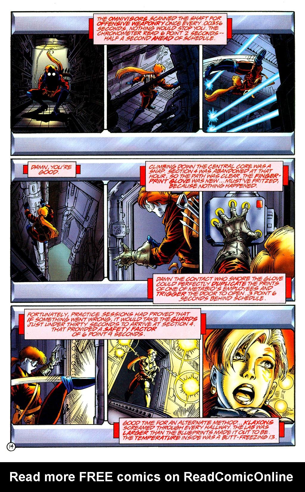Read online UltraForce (1994) comic -  Issue #8 - 13