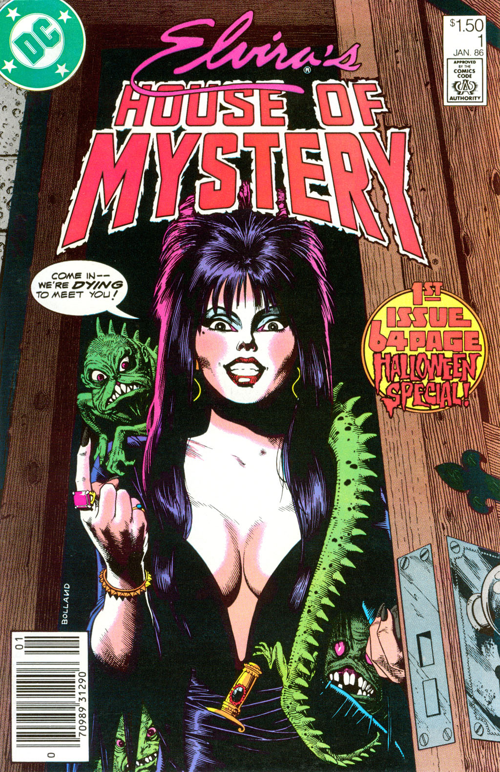 Elvira's House of Mystery Issue #1 #2 - English 1