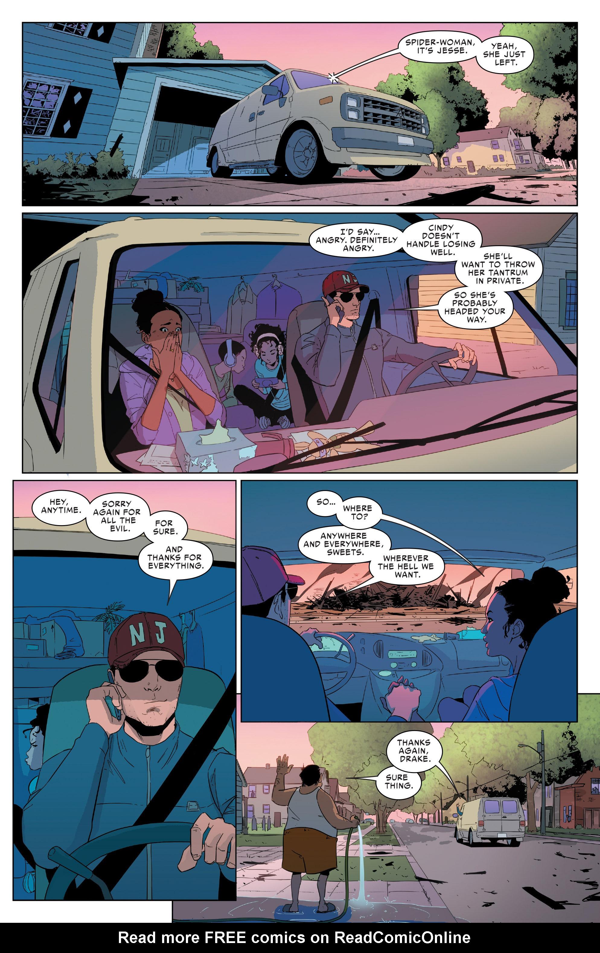 Read online Spider-Women Omega comic -  Issue # Full - 7