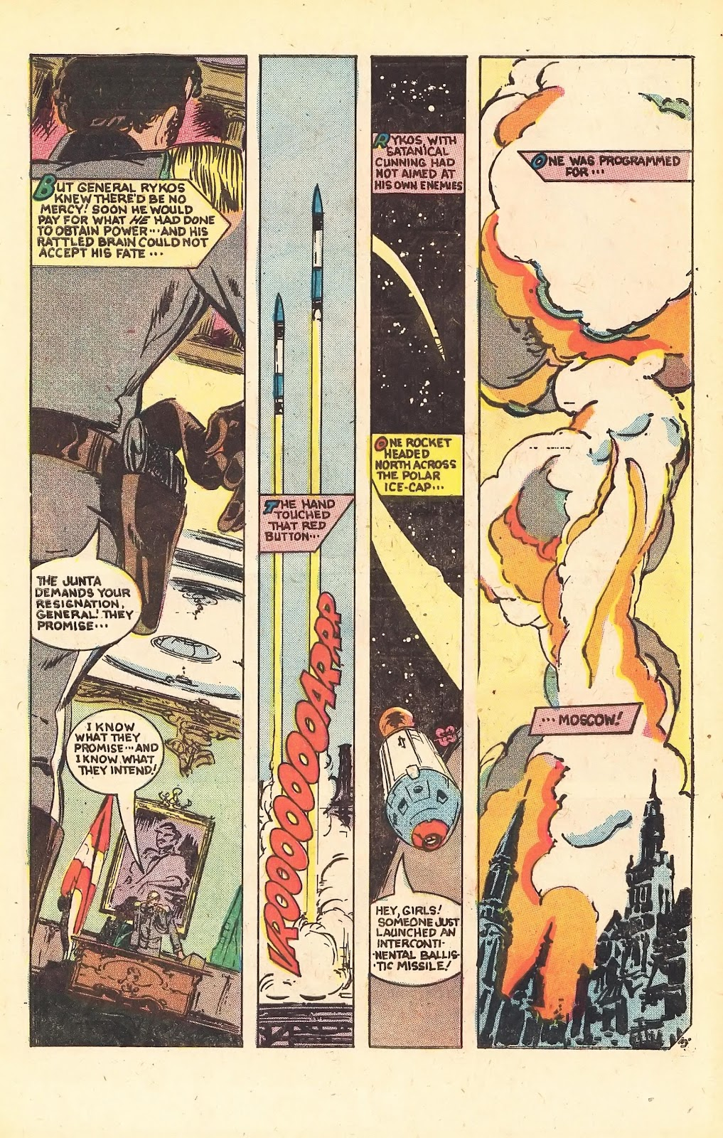 Read online Doomsday   1 (1975) comic -  Issue #1 - 5