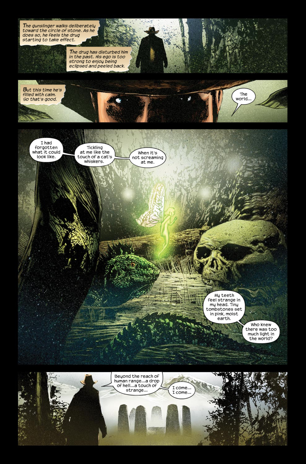 Read online Dark Tower: The Gunslinger - The Way Station comic -  Issue #5 - 10