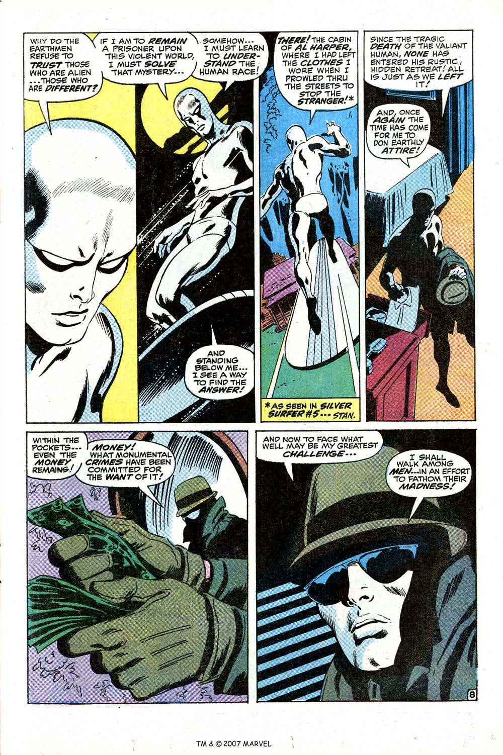 Read online Silver Surfer (1968) comic -  Issue #10 - 13