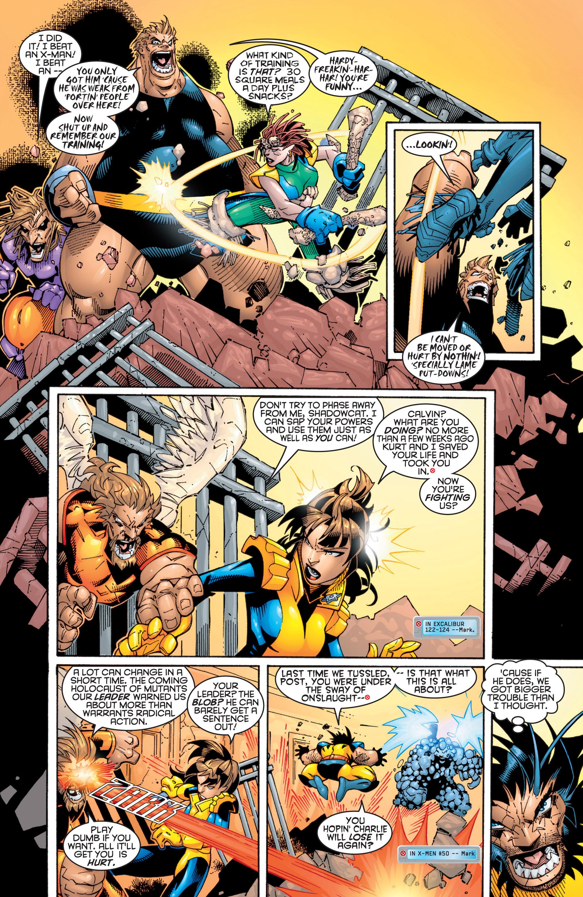 Read online Uncanny X-Men (1963) comic -  Issue #363 - 19