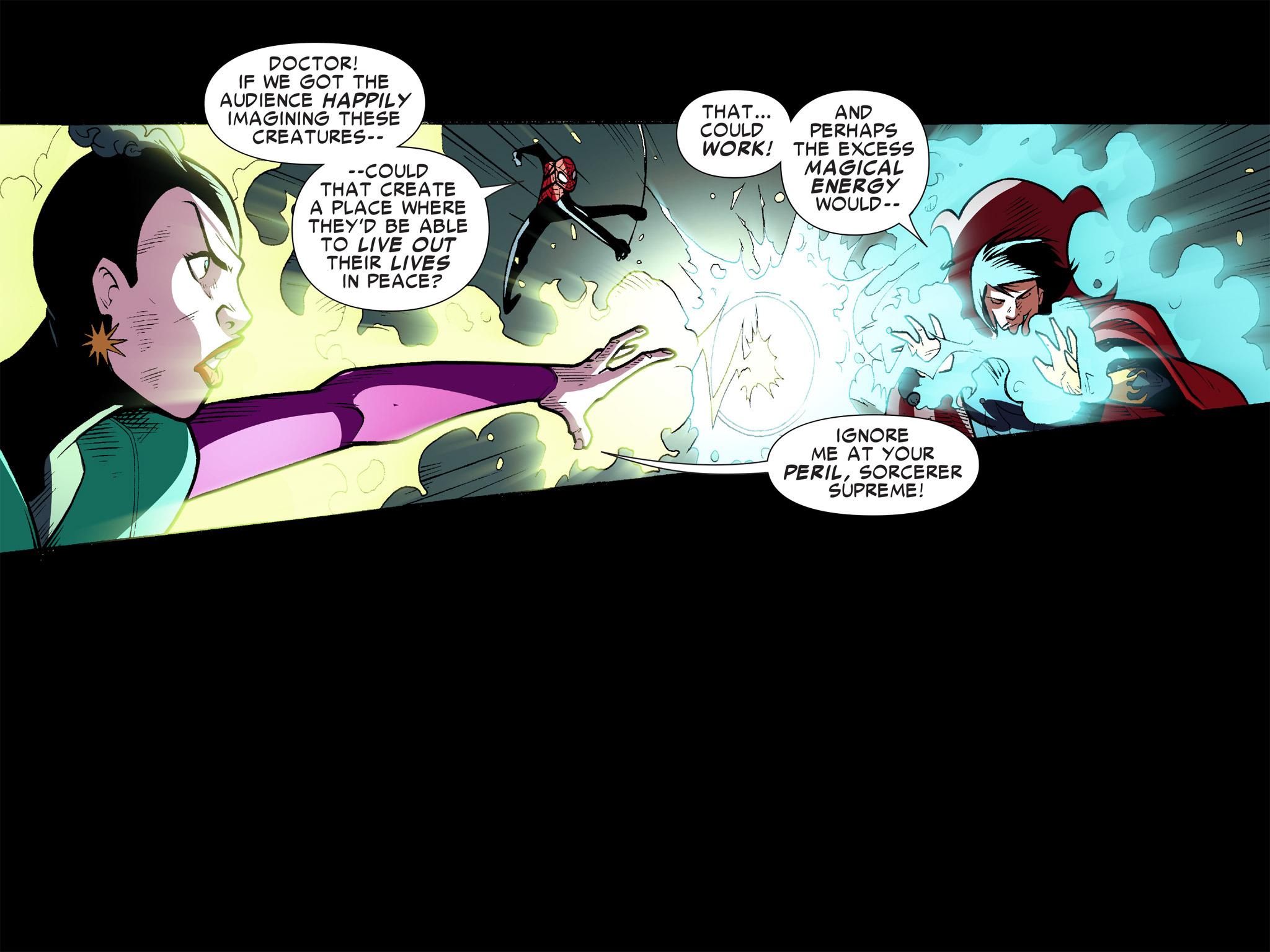 Read online Ultimate Spider-Man (Infinite Comics) (2016) comic -  Issue #10 - 34