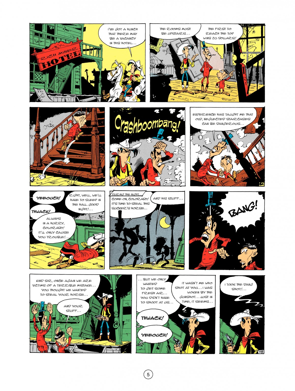 Read online A Lucky Luke Adventure comic -  Issue #2 - 7