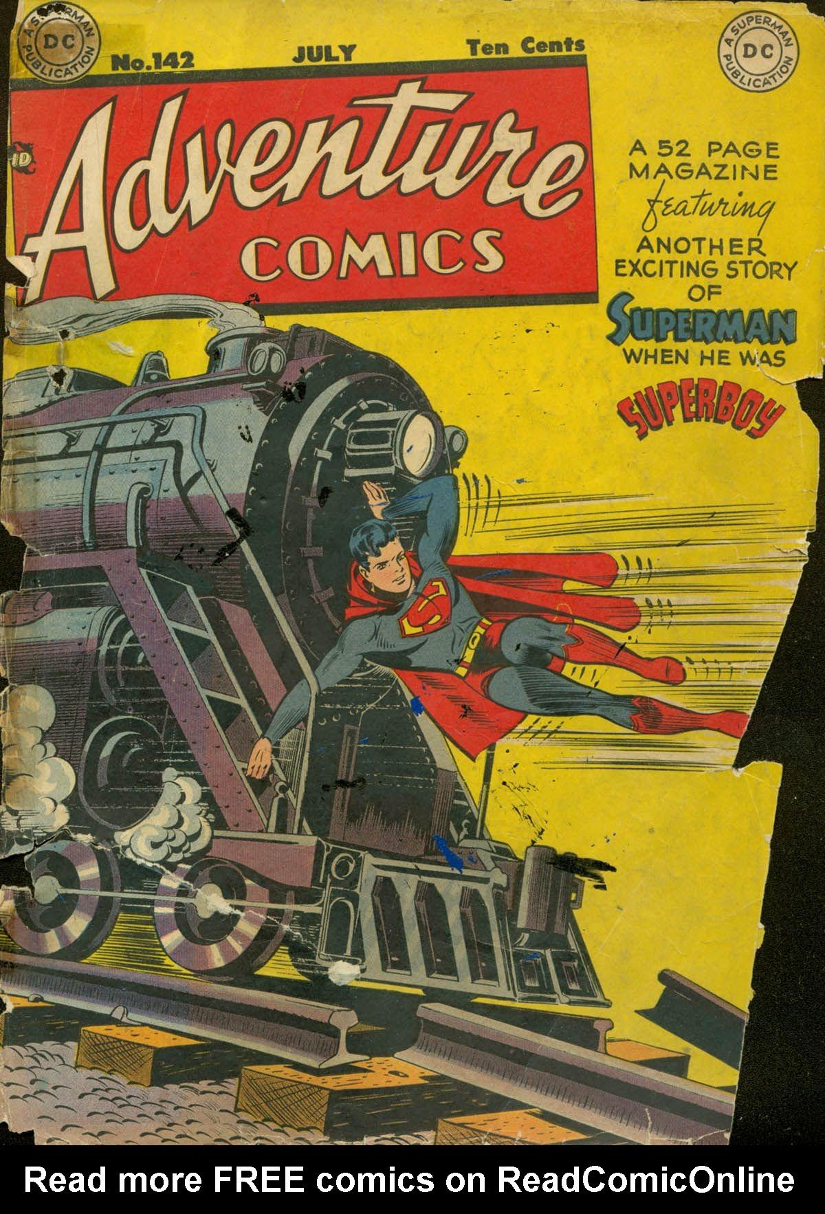 Read online Adventure Comics (1938) comic -  Issue #142 - 1