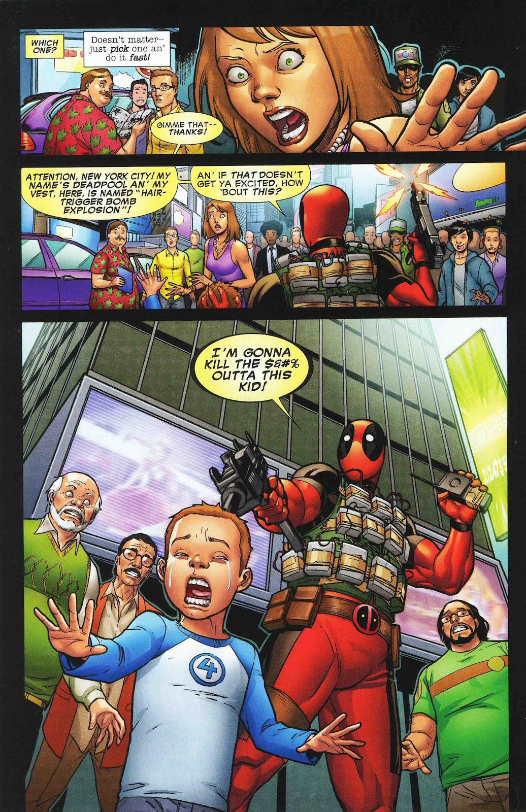 Read online Deadpool (2008) comic -  Issue #47 - 18