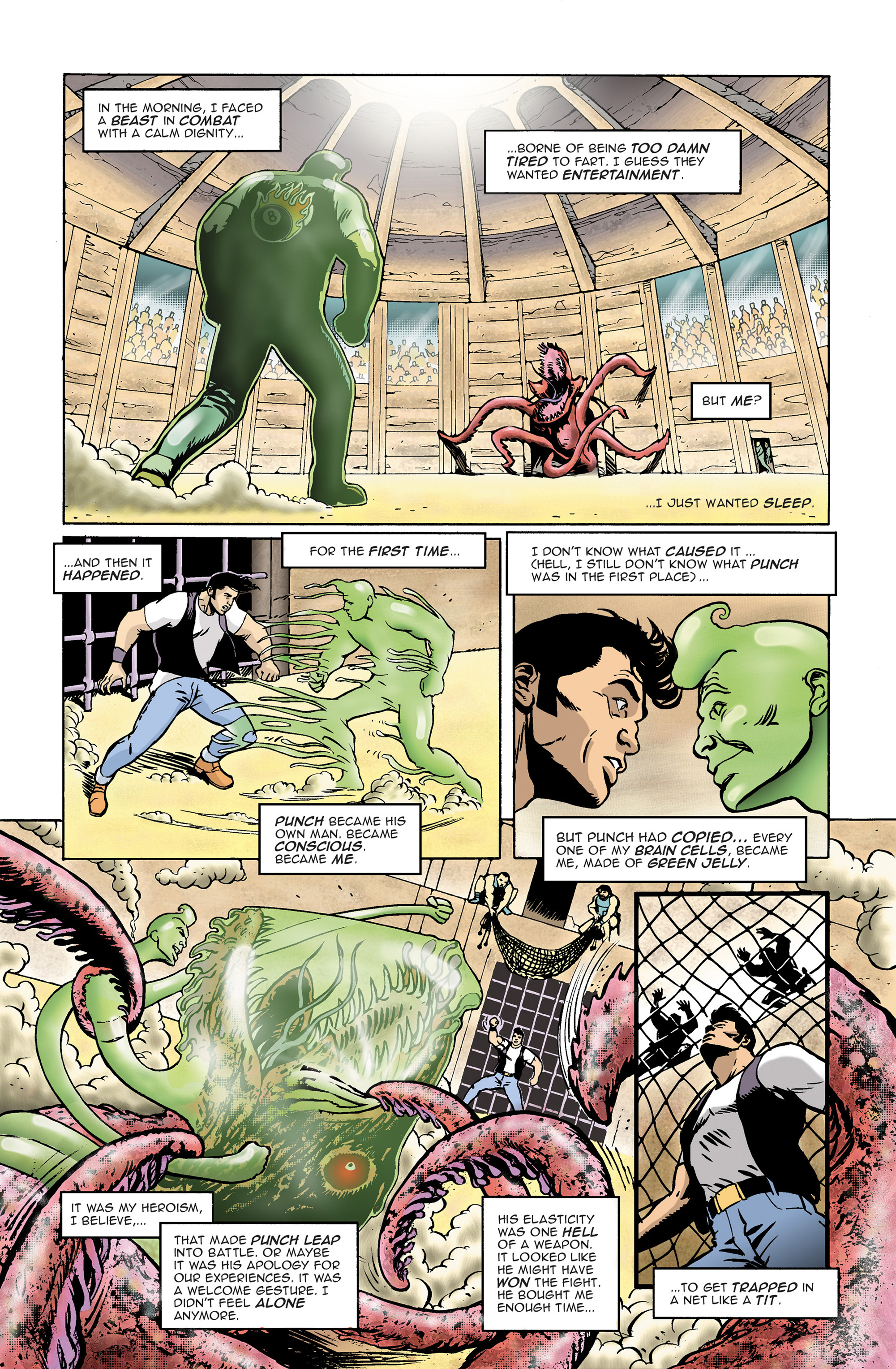 Read online 100% Biodegradable comic -  Issue #14 - 12