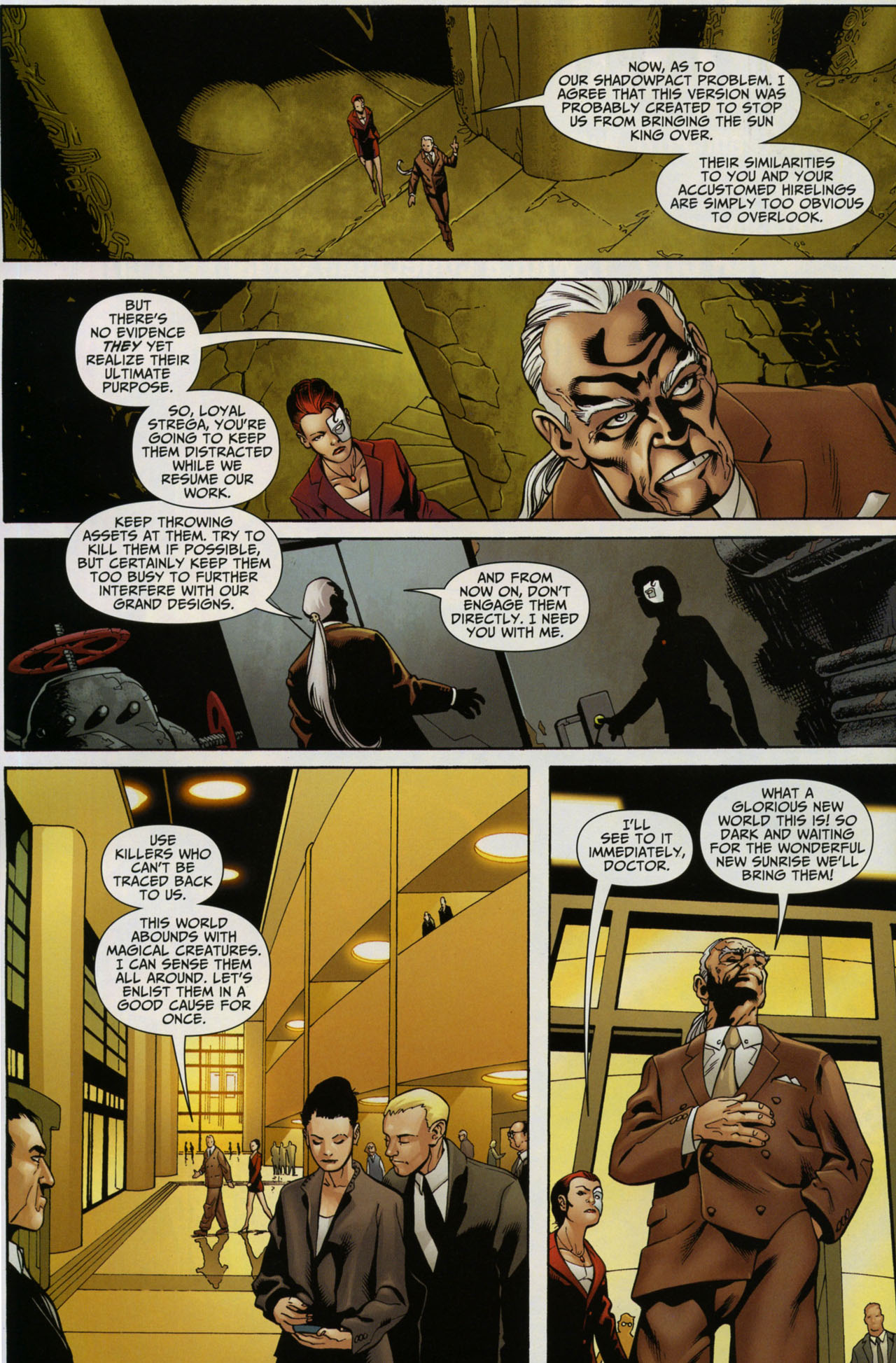 Read online Shadowpact comic -  Issue #5 - 14