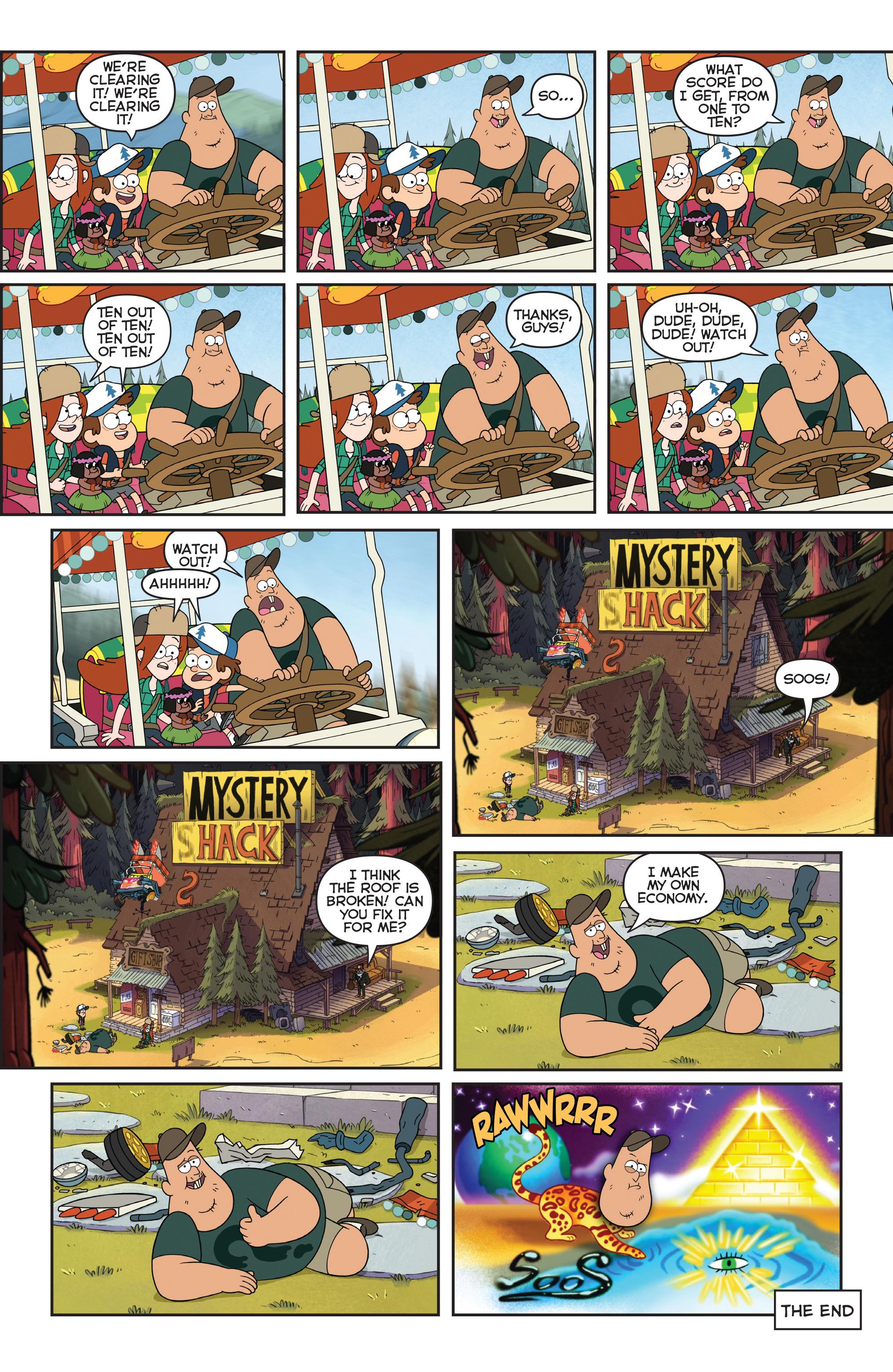 Read online Disney Gravity Falls Shorts Cinestory Comic comic -  Issue #2 - 29