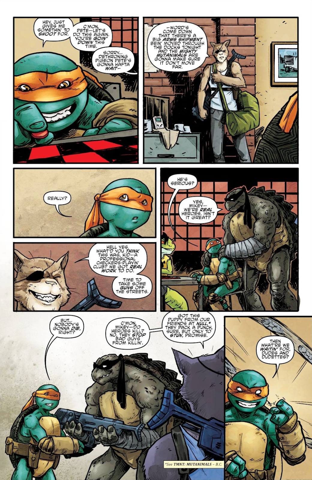 Read online Teenage Mutant Ninja Turtles: The IDW Collection comic -  Issue # TPB 7 (Part 1) - 62