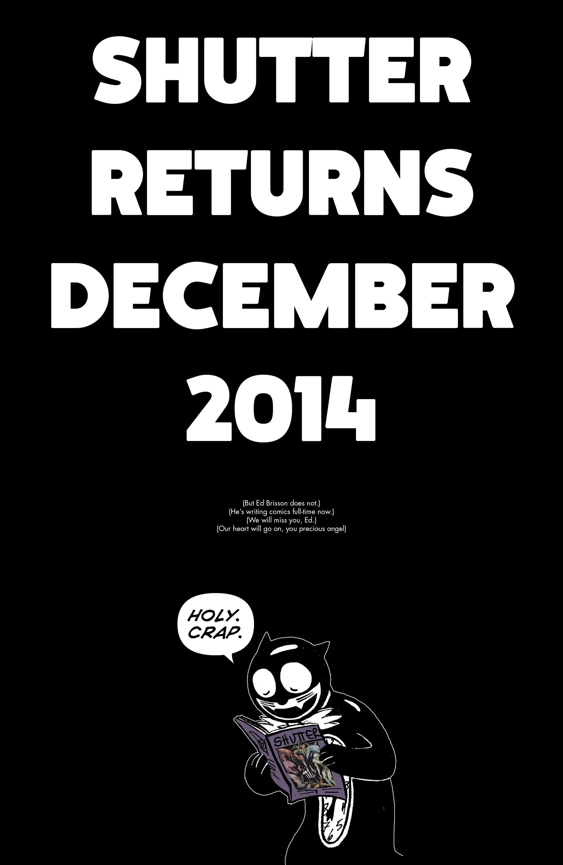 Read online Shutter comic -  Issue #6 - 24