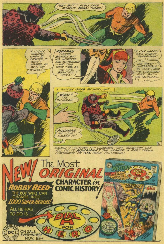 Read online Aquaman (1962) comic -  Issue #25 - 22