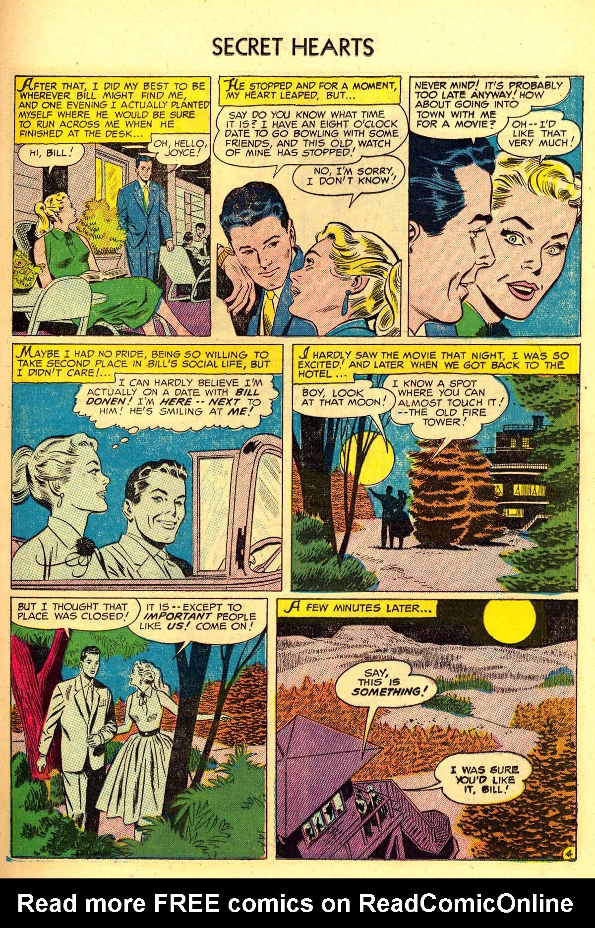 Read online Secret Hearts comic -  Issue #34 - 21