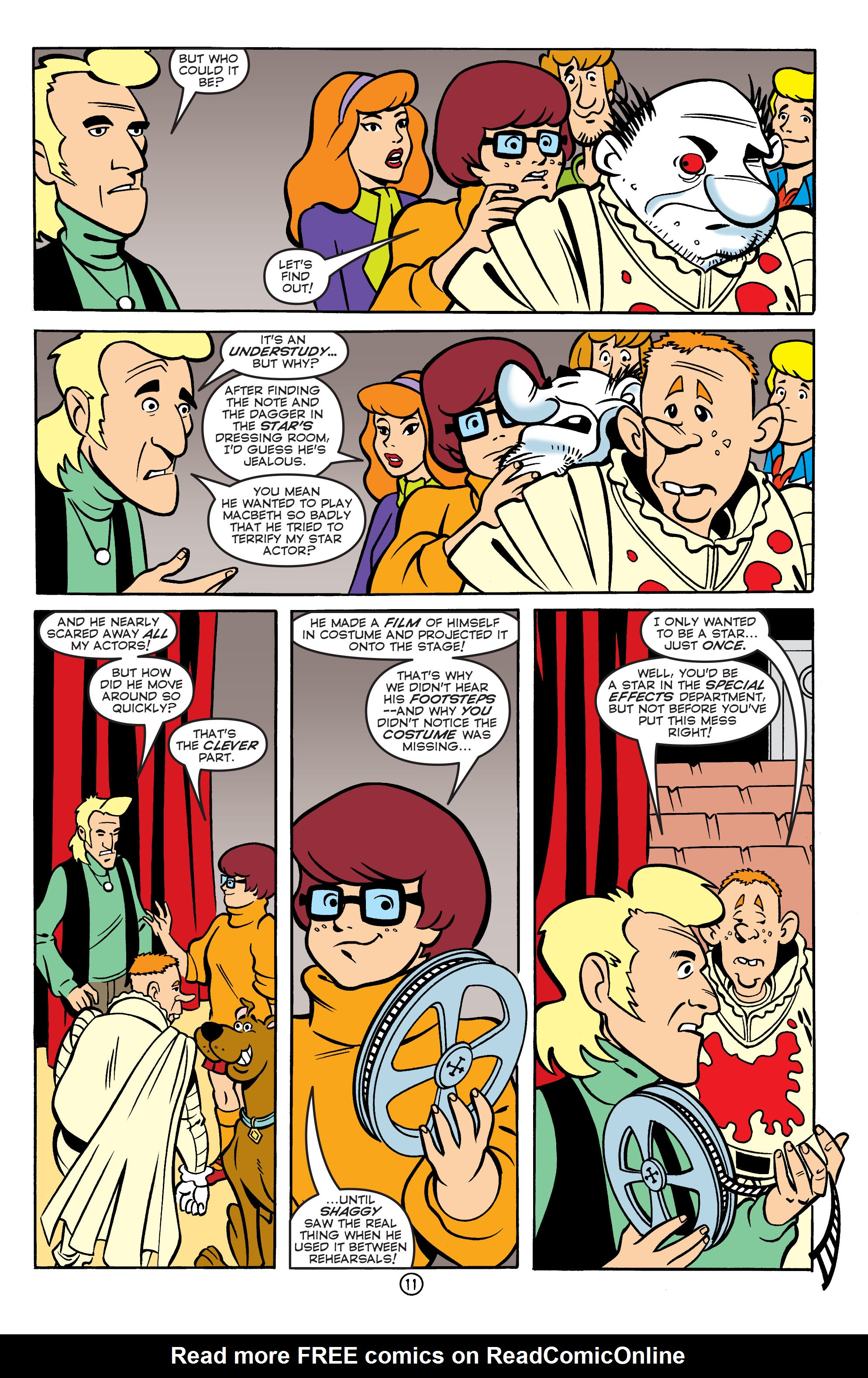 Read online Scooby-Doo: Where Are You? comic -  Issue #55 - 22